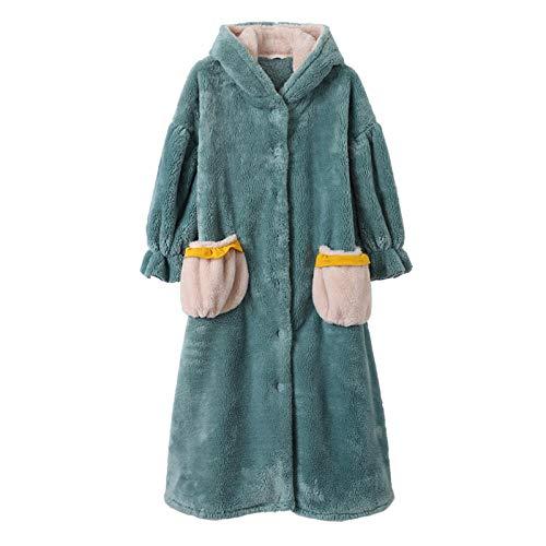 lxylllzs Robe Luxury AlgodóN Absorbente ,Polar niña