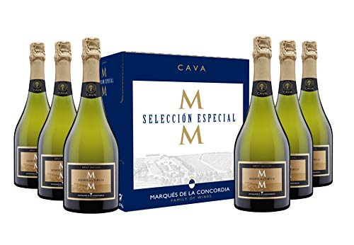 Marqués de la Concordia Caja 6 botellas -Cava Reserva...
