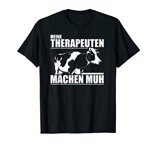 Landwirt T-Shirt Kuh Kühe Viehwirt Milchbauer Geschenk Bauer