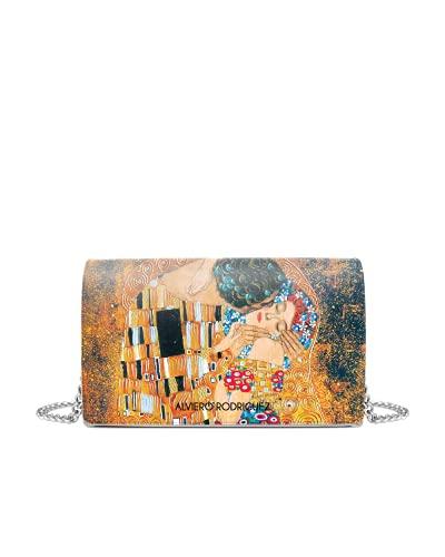 Alviero Rodriguez Borsa Bianca Bacio di Klimt