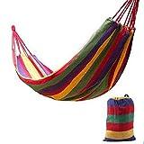MMWYC Hamaca, al Aire Libre Ofertas Caribe Estilo al Aire Libre Doble 2 Persona algodón Ultraligero hamacas, for Acampar/Senderismo/Patio Trasero Swing / 74.8x59.1 Pulgadas (Color : C)