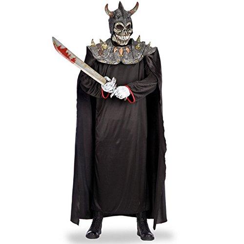 Costume Squelette Viking Cape - Deguisement Halloween Accessoire - 391