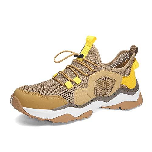Ys-s Personalización de la tienda Running Sneaker para los hombres Tire de la velocidad de encaje de la velocidad de la velocidad de la velocidad de encaje Suela Soldón Soldón es un resbalón transpira