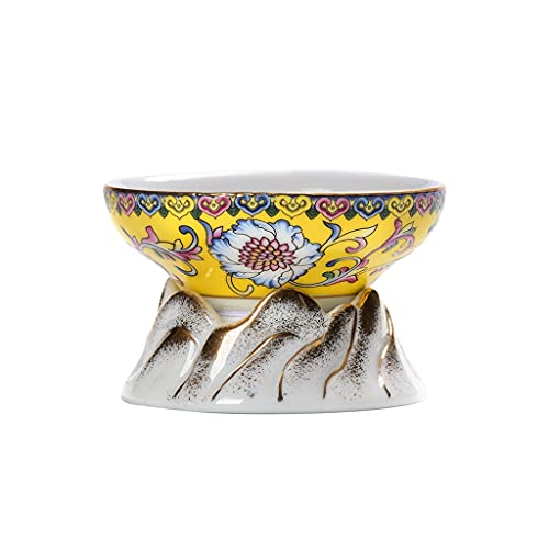 Colador de té Esmalte de cerámica de cerámica colador de té Kung fu Juego de té Chino colador de té de preparación de té colador de té colador de té (Color : B)