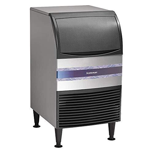 Scotsman CU0920MA-1 Máquina para hacer hielo bajo encimera de cubeta refrigerado por aire con 57 lb. Capacidad de almacenamiento,...