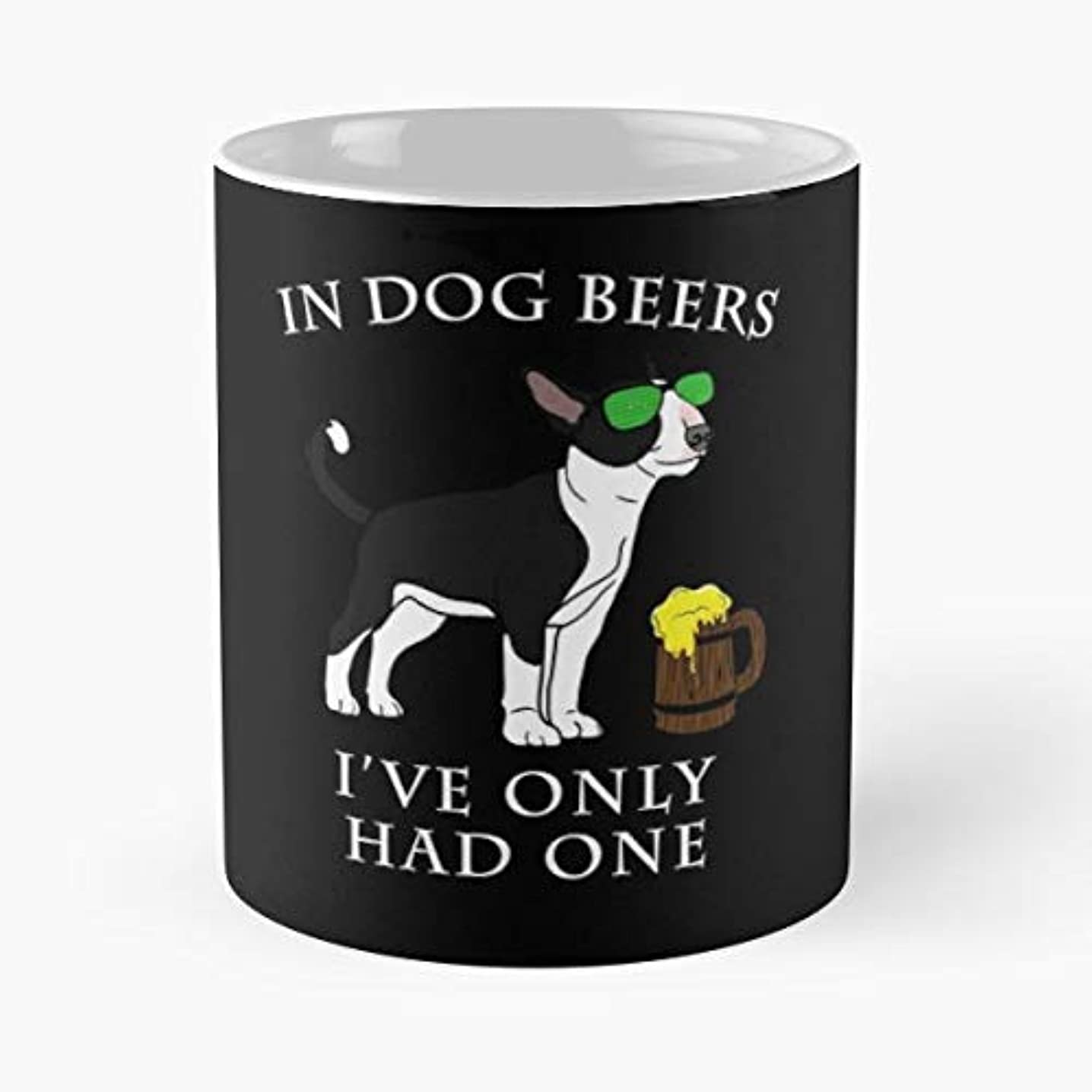 Pattys Party Green Ireland Bull Terrier Irish Dog Lover - Best Gift Coffee Mugs Unique Ceramic Novelty Cup