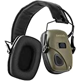 awesafe Ear Defenders Electronic Shooting Earmuffs Super Soft Comfortable Ear Pads, Noise Reduction Sound Amplification Hearing Protection Earmuffs