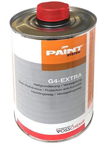 VOSSCHEMIE G4 - Extra, 0,5L - Sperrgrund und Versiegelung für poröse Stein- und Betonflächen.