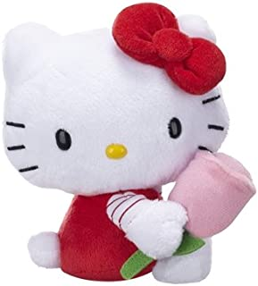 Hello Kitty Flower Plush - with Tulip