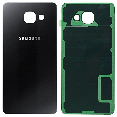 Unbekannt Original Samsung Akkudeckel Black/schwarz für Samsung A510F Galaxy A5 (2016) - (Akkufachdeckel, Batterieabdeckung, Rückseite, Back-Cover) - GH82-11020B