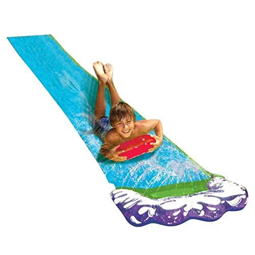 precauti Glijbaan, springkussens voor kinderen Volwassenen Achtertuin Watersport Gigantische achtertuin Waterglijbaan Zomer Waterspeelgoed Buiten Gras Waternevel Slipvellen Surfplank Tuin Speelgoed