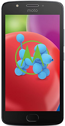moto e4 Smartphone (12,7 cm (5 Zoll) Display, 2 GB RAM/16 GB, Android) iron grau