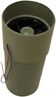 Sun-Mar 12V Fan, 1.4 watts for NonElectric Composting Toilets