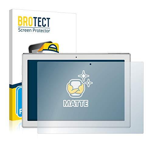 BROTECT 2X Entspiegelungs-Schutzfolie kompatibel mit Lenovo Tab 4 10 HD Bildschirmschutz-Folie Matt, Anti-Reflex, Anti-Fingerprint