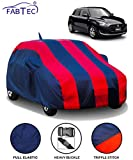 FABTEC Car Body Cover for Maruti Swift (2018-2019) with Mirror Antenna Pocket