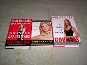 Ann Coulter - (Set of 3) - Not a Boxed Set (Liberal Lies About the American Right / The Church of Liberalism Godless / If ...