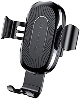 Baseus Car Holder & Wireless Charger 10W 2 in 1 - Black