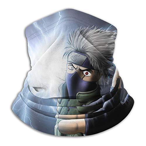 1366 Kakashi Naruto - Pasamontañas unisex para el cuello cálido, para el frío, para deportes al aire libre, invierno, turbante