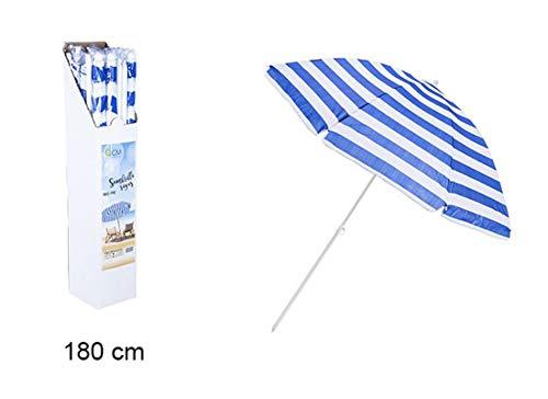 200x200 Pierre Cardin Ombrellone da Spiaggia Giardino Piscina Outdoor Taormina Fantasia Corallo