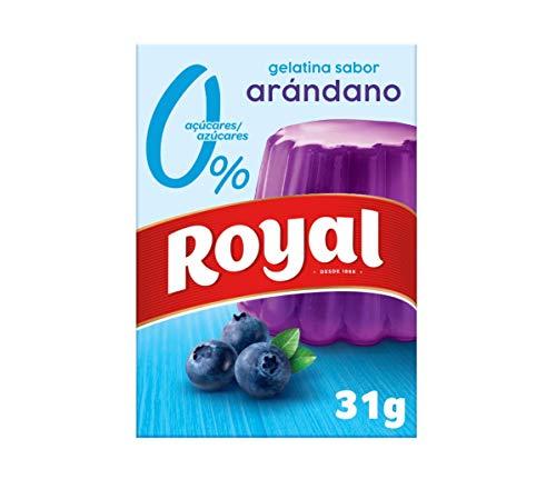 Royal Gelatina Arándano 10Kcal, 31 g