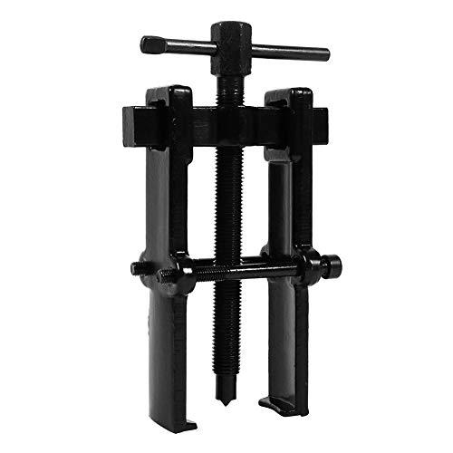Extractor de Dos Mandíbulas, Extractor de Engranajes de Rodamiento para Automóvil de Motocicleta, Rango Ajustable, Acero Al Carbono, Tipo Recto(4 pulgadas - 40 × 80 mm)