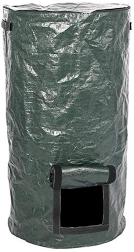 Fantastic Prices! HHQueen Compost Bag, Compost Bin Clean for Home Garden Waste Composter Grow Bag Ec...
