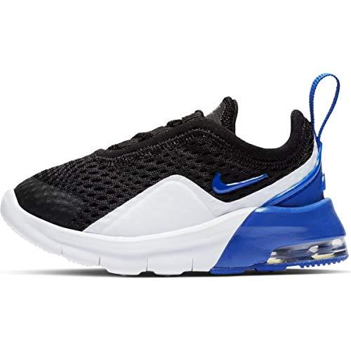 Nike Unisex Baby Air Max Motion 2 (TDE) Niedrige Hausschuhe, Mehrfarbig (Black/Game Royal/White 003), 22 EU