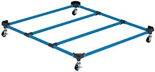 TOEI LIGHT(トーエイライト) 跳び箱運搬車RS100 幅96×長さ105×高さ11.5cm キャスター50mm(2ヶストッパー付) T2440