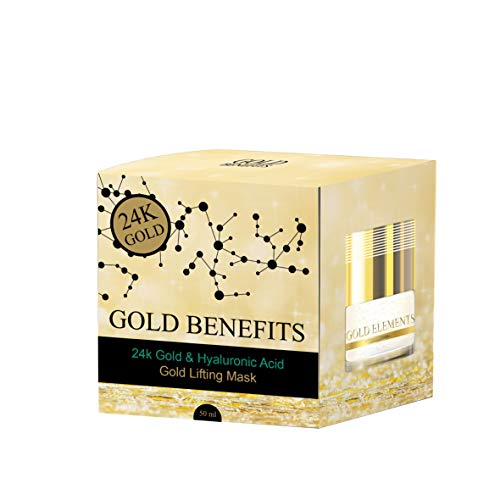 La crème de jour régénératrice Gold Benefits, à base d'or 24K, crée une crème hydratante qui soulève temporairement la peau. Aide à nourrir, restaurer et enrichir le niveau d'hydratation de la peau