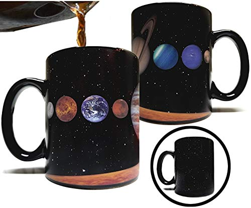 The Rising Sun Solar System Planets 11 fluid ounce Color Changing Heat...