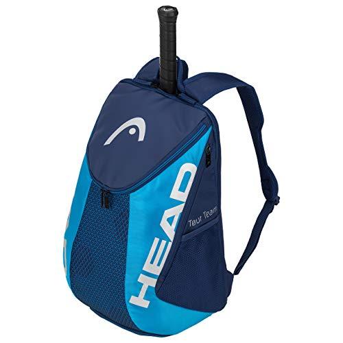HEAD Unisex-Erwachsene Tour Team Backpack Tennistasche, navy/blau, Einheitsgröße