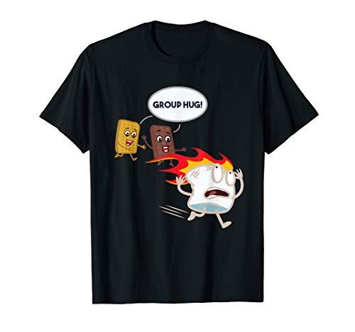 Smores S'mores Marshmallow Camping Roasting Bonfire T-Shirt