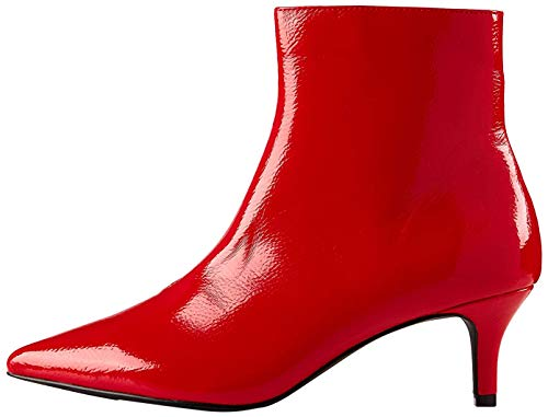 find. Kitten Heel Botines, Red, 36 EU