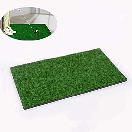 HAMISS for Backyard Golf Mat Golf Training Aids Outdoor/Indoor Hitting Pad Practice Grass Mat Game Golf Training Mat Grassroots 60x30cm