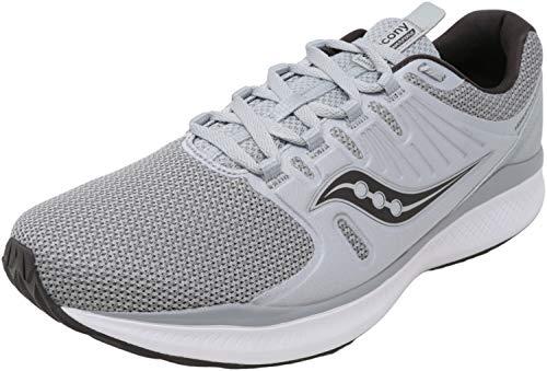 Saucony Men's Versafoam Inferno Running Shoe, Grey/Blue, 10