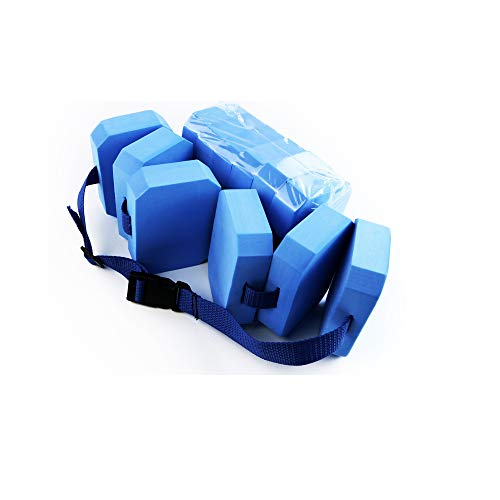 SZDAJAN Cinturón de flotación de espuma para niños y niños pequeños, cinturón de flotabilidad, flotación de agua, equipo aeróbico, cinturón para entrenamiento de natación