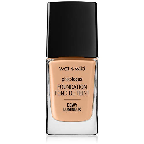 Wet N Wild Foundation – Photofocus Foundation Dewy Skin, Classic Beige, 1 Stück, 30ml