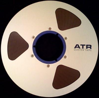 ATR Studio Mastering Tape 1''x2500' Challenge the lowest price of Japan Reel Large discharge sale Metal NAB 10.5'