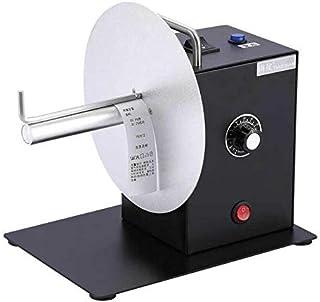 Rebobinador automático de etiquetas de código de barras/etiquetas, tamaño pequeño y ligero, ancho de etiqueta aplicable: 10-120 mm, 0-200 mm, color negro