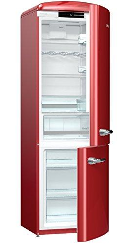 Réfrigérateur/congélateur Gorenje ORK 193 bordeaux