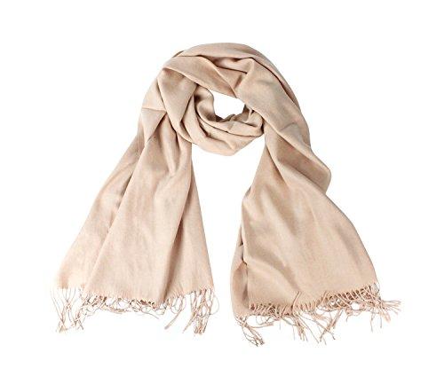 Glamexx24 XXL kasjmier dames gebreide sjaal heren halsdoek kasjmier hoofddoek unisex pashmina stola voor lente zomer het hele jaar door