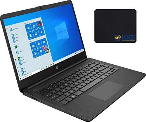 "2020 Newest HP 14"" HD Screen Laptop, AMD Athlon Silver 3050U Processor up to 3.20GHz, 16GB RAM, 1TB SSD, HDMI, Webcam, Wi-Fi, Bluetooth, Zoom Meeting, Online Class, Windows 10, KKE Bundle, Jet Black"