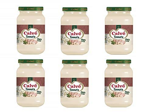6x Calvè Salsa Tonnata Thunfischsauce würzen soße Salad sauce 225 ml
