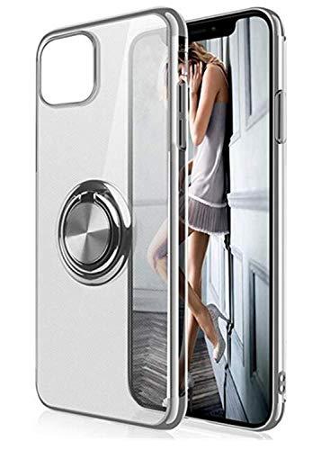 Niter - Funda protectora para iPhone X/XS XS (ultrafina, silicona TPU, 360°) multicolor plata xx-small