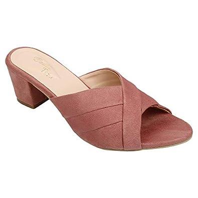 BELLA TOES Women's Peach Fashion Sandal