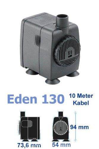 Eden 130 Wasserpumpe mit 10m Kabel (32W, 1150 l/h, 2,5 m Förderhöhe), hochwertige Qualitätspumpe, kleine Pumpe für Ihren Garten- und Zimmerbrunnen