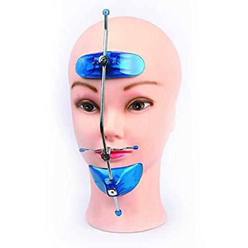 J&J Ortho Orthodontic Protraction Face Mask Reverse Headgear for Underbite (Blue)