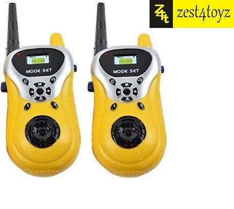Zest 4 Toyz Two Player Walkie Talkie Phone Toy (Multi-Color, Set Of 2)