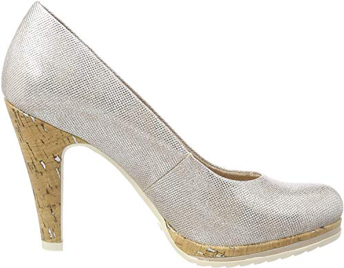MARCO TOZZI Damen 22401 Pumps, Gold (Rose Metallic), 38 EU