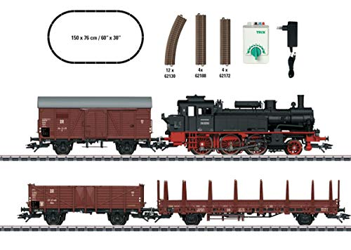 Trix 21532 H0 Start-Set Güterzug der DR